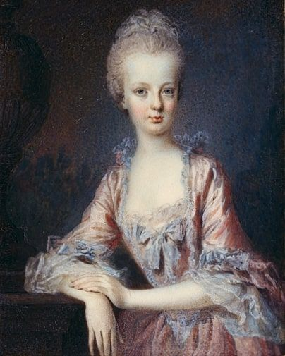 Marie Antoinette as a young woman